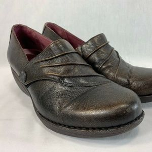 Dansko Shoes Clogs Leather Slip On